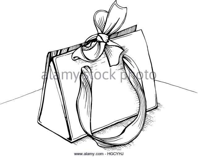 640x506 Gift Bow Sketch Stock Photos Amp Gift Bow Sketch Stock Images