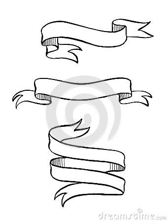 341x450 Drawn Ribbon
