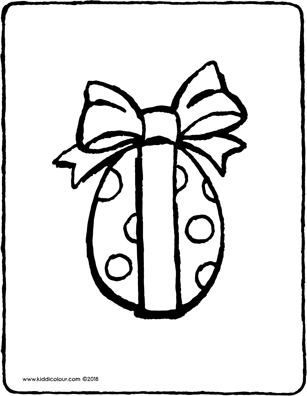 1240x1600 Easter Egg With Ribbon