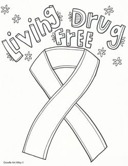250x323 Red Ribbon Week Drawing For Kids