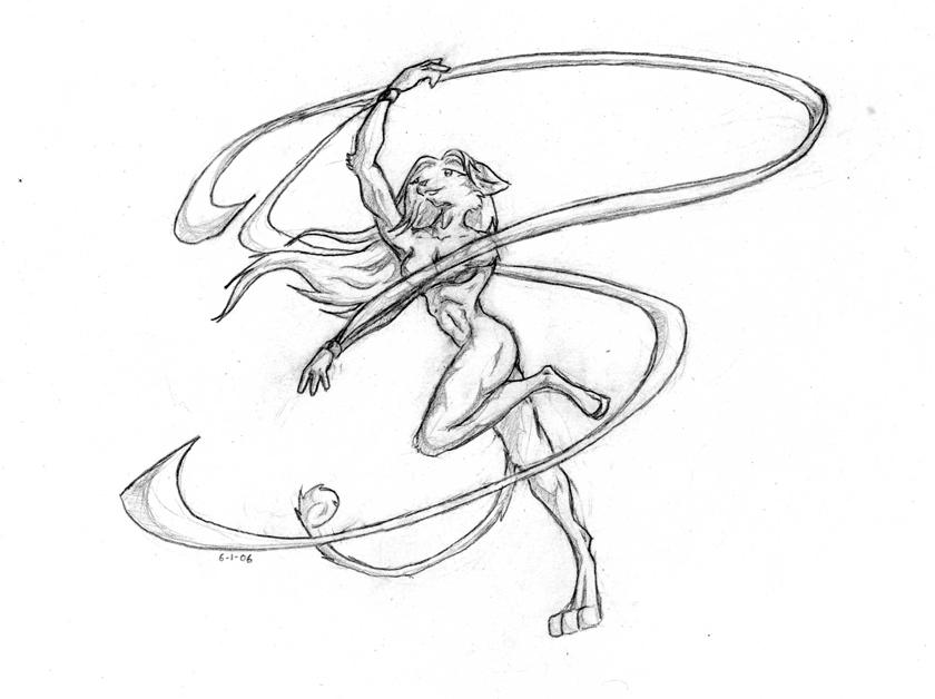 840x628 Ribbon Dancer By Shadowcheetah