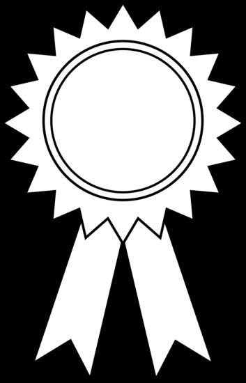 353x550 Award Ribbon Outline