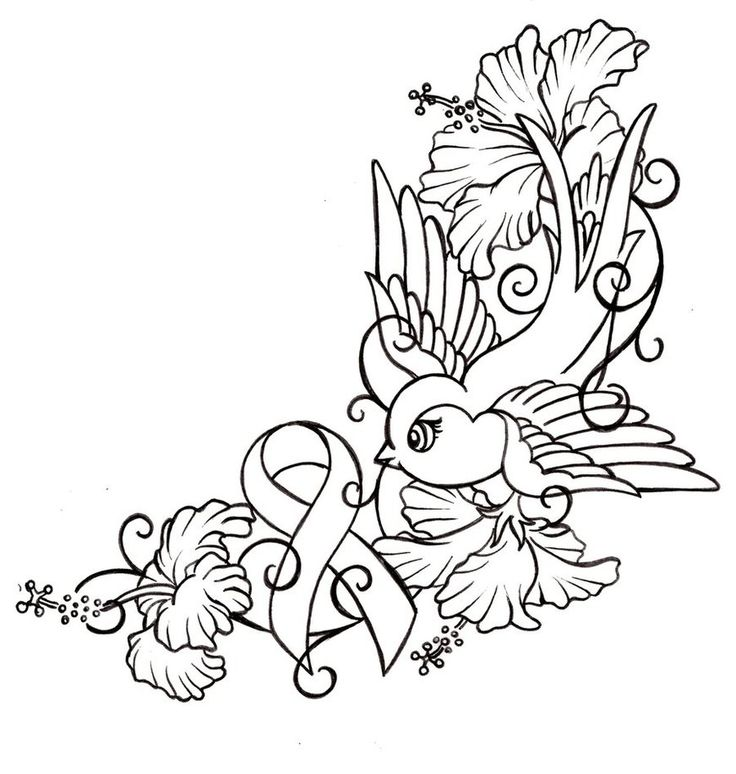 736x774 Breast Cancer Ribbon Coloring Page Many Interesting Cliparts