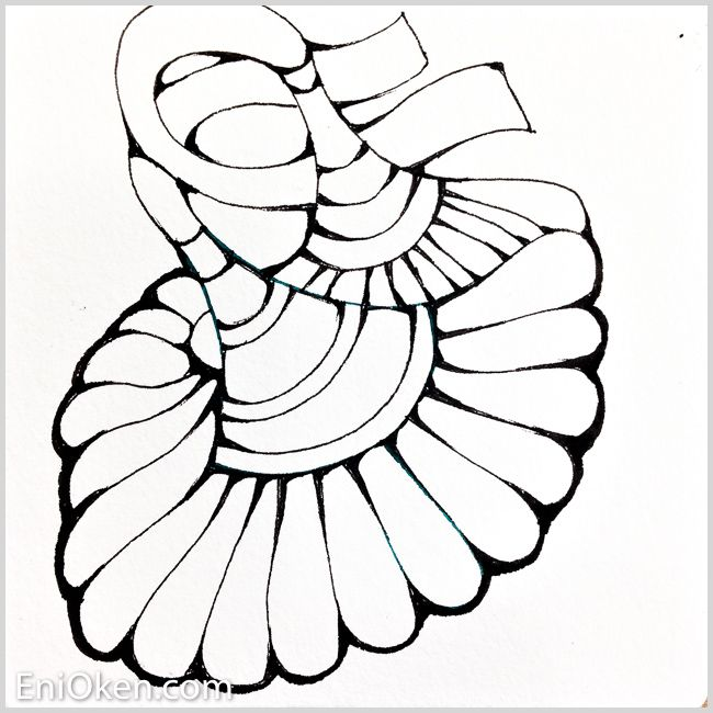 650x650 Shading Zentangle With A 6b Pencil Is Fun!
