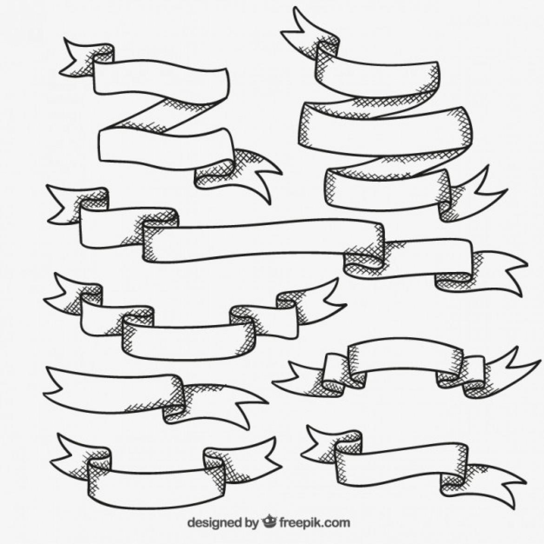 Ribbons Drawing