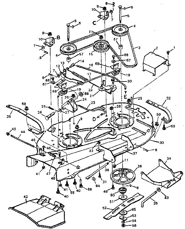 craftsman riding lawn mower parts diagram manual wiring diagrams rh imovo co
