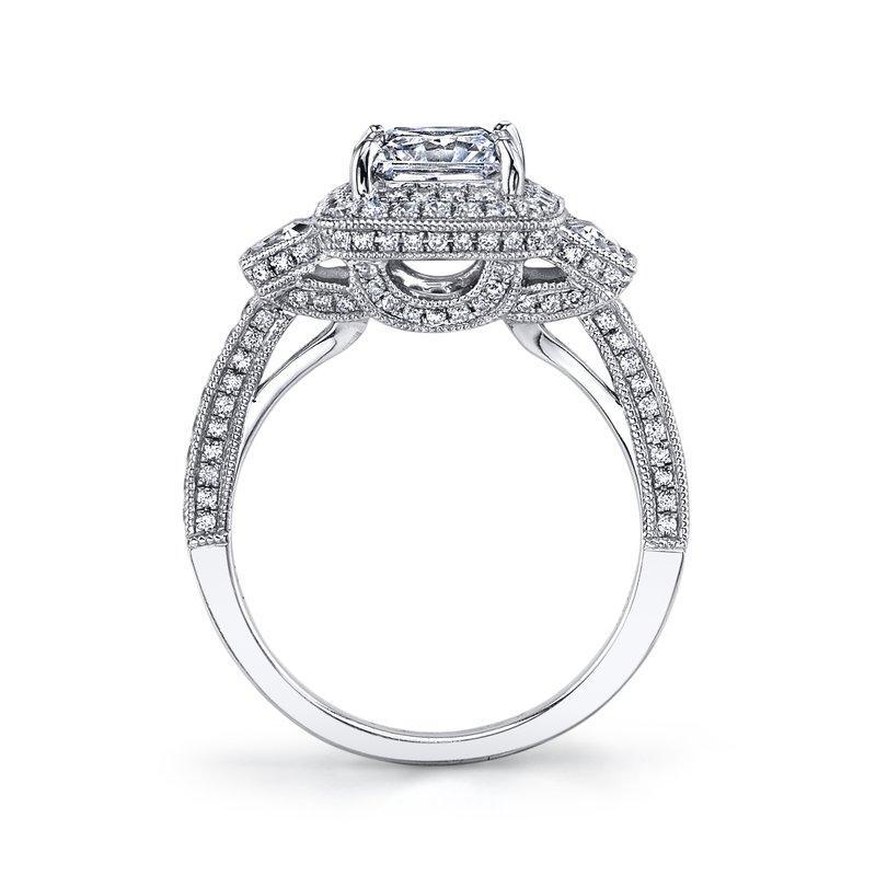 800x800 Ladies Antique Diamond Engagement Ring Pop Gems