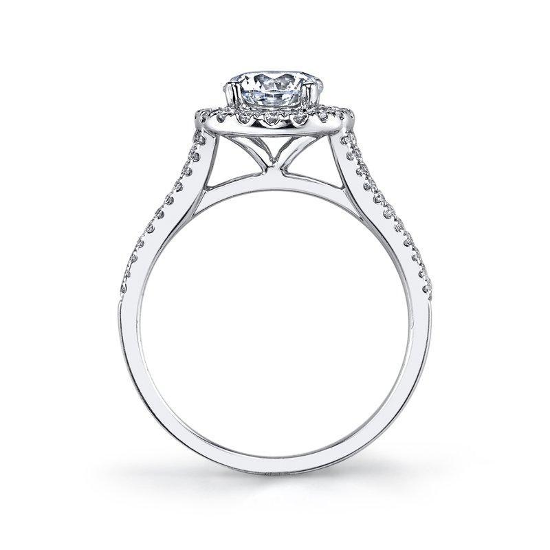 800x800 Ladies Halo Diamond Engagement Ring Pop Gems