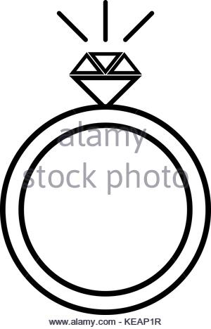 300x468 Vector Wedding Ring On Hand. Pop Art Style Stock Vector Art