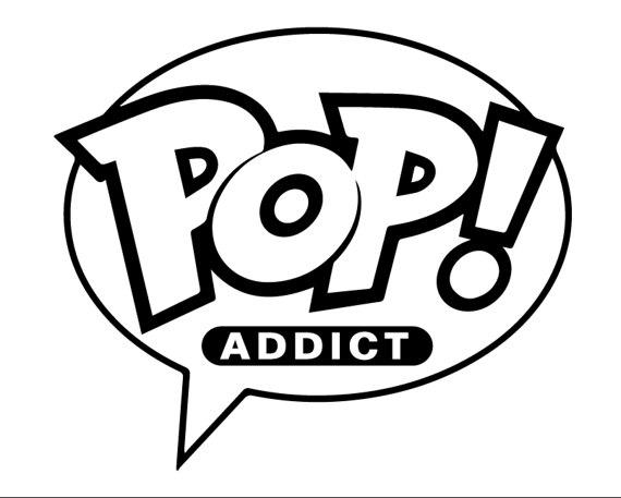 570x457 Funko Pop Addict Vinyl Decal