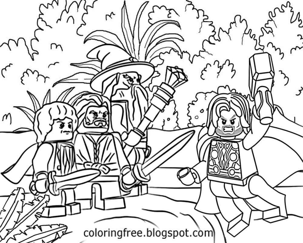1000x800 Fresh Ideas Lord Of The Rings Coloring Pages Free Printable