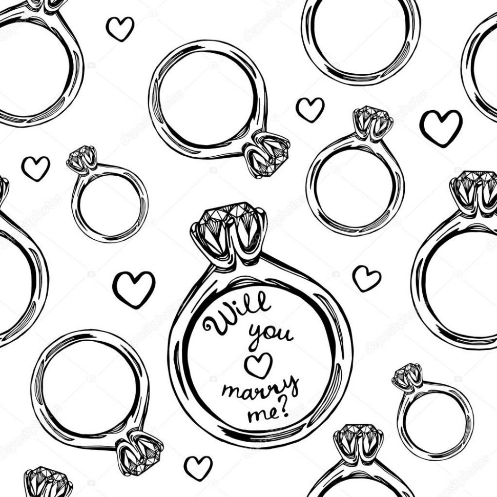 970x970 How To Draw A Wedding Ring