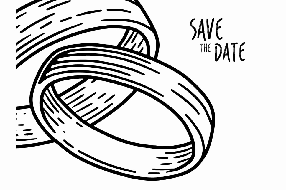 970x647 How To Draw A Wedding Ring Awesome Wedding Rings How To Draw