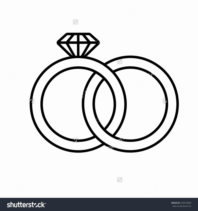 687x733 How To Draw Wedding Ring Beautiful Wedding Rings How To Draw