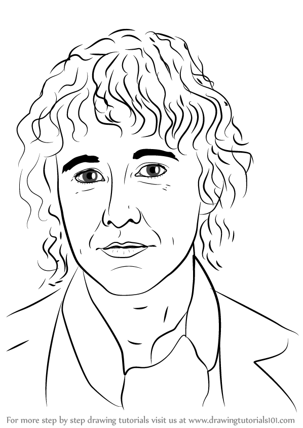 598x844 Learn How To Draw Pippin From Lord Of The Rings (Lord Of The Rings