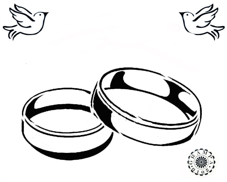 1500x1200 Wedding Rings Drawing Drawn Ring Wedding Ring