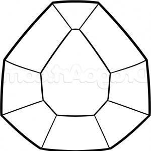 300x300 Custom Made Engagement Rings Drawing Radiant Diamond Caymancode
