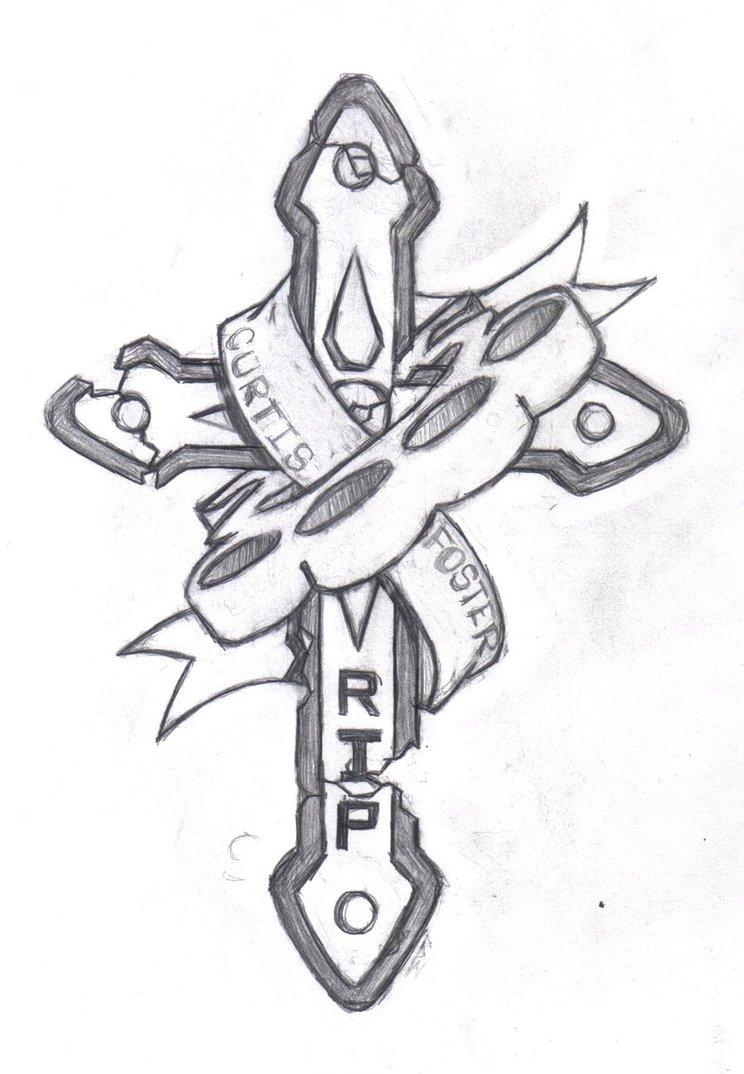 744x1074 Rip Tattoo By Dark Necro Master