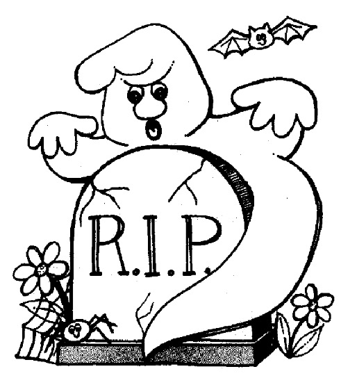 491x554 Halloween Rip Coloring Page Amp Coloring Book