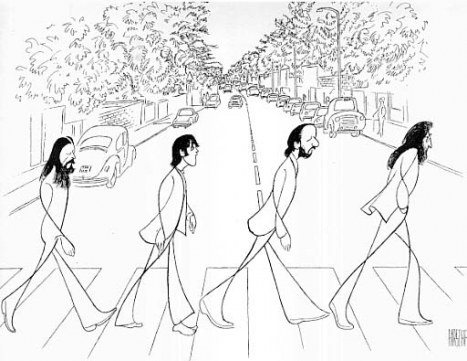 467x361 Abbey Road Drawing Beatles Abbey Road And Beatles