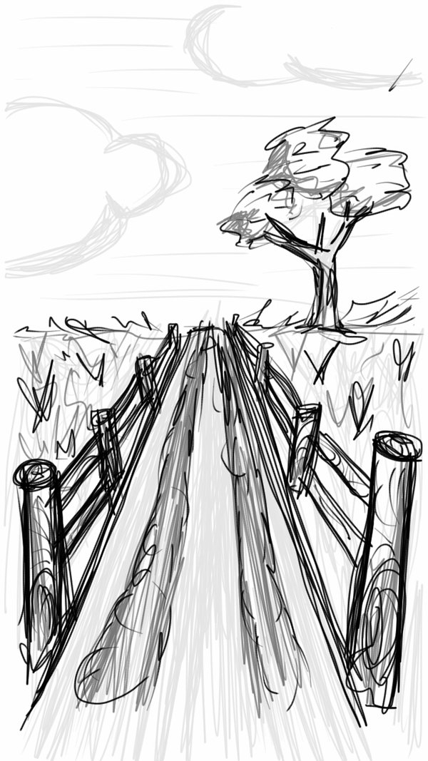 600x1067 Long Road, Quick Sketch by xxRosscoxx on DeviantArt