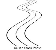 215x194 Perspective Of Curved Road Clipart Vector And Illustration. 147