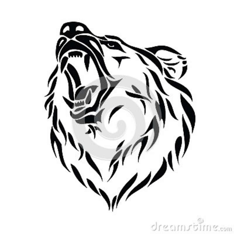 800x800 Grizzly Bear Head Tattoo Designs Bears, Tattoo