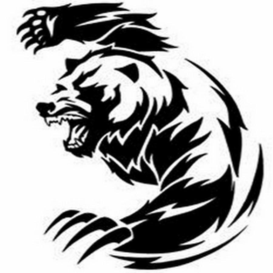 900x900 Latest Bear Tattoo Designs