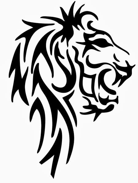 450x596 82 Famous Lion Tattoo Design Amp Sketches