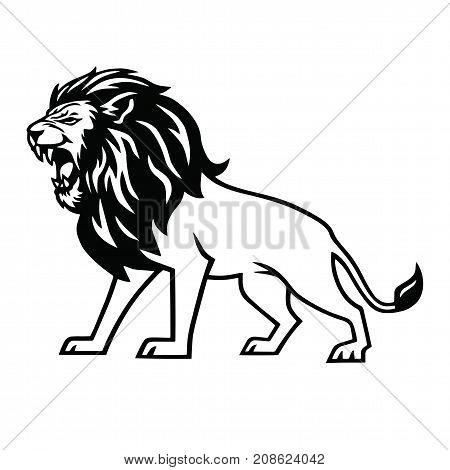450x470 Roaring Lion Images, Illustrations, Vectors