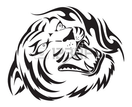450x367 Tiger Drawing Stock Photos. Royalty Free Business Images