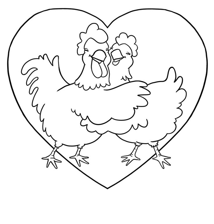 736x773 7 Best Chicken Drawings Images On Hens, Cartoon