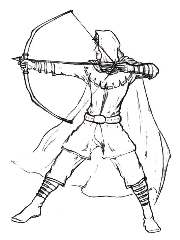 Robin Hood Drawing at GetDrawings.com | Free for personal use Robin ...