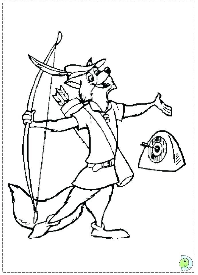 691x960 Robin Coloring Sheet Robin Coloring Page Wonderful Robin Hood