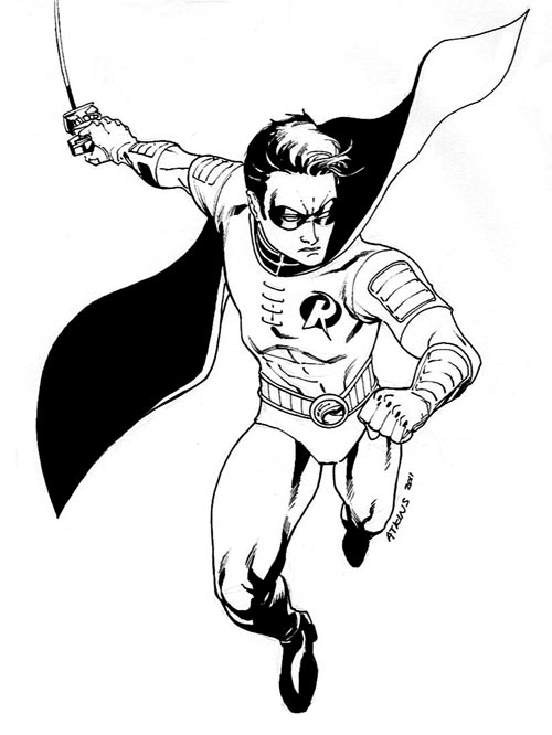 500x666 Teen Titans Go! Robert Atkins Art