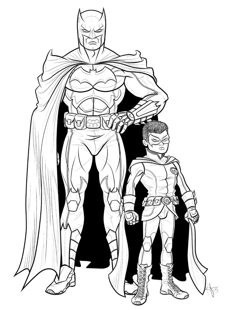 762x1048 The New 52 Batman And Robin By Kaufee