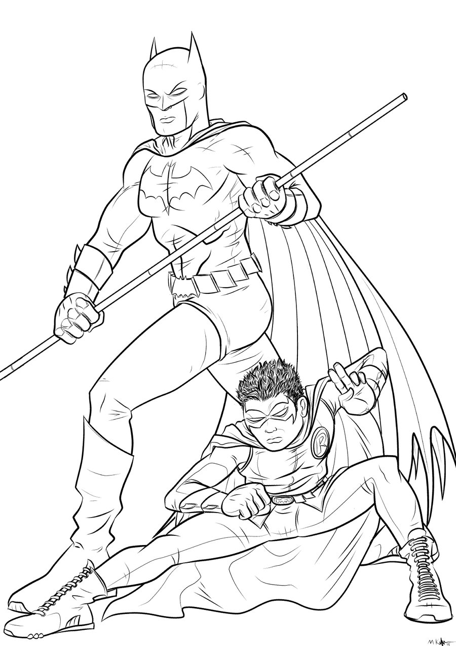 Robin Superhero Drawing at GetDrawings   Free download