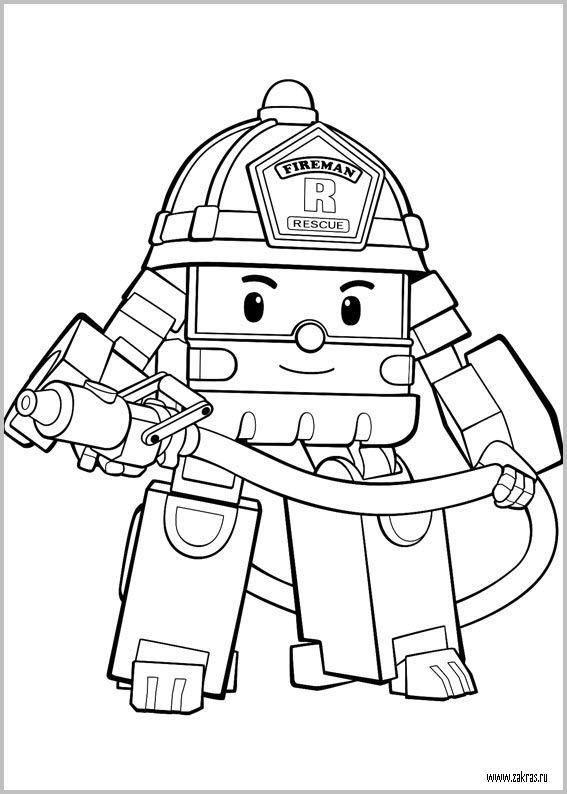 Robocar Poli Drawing At GetDrawings