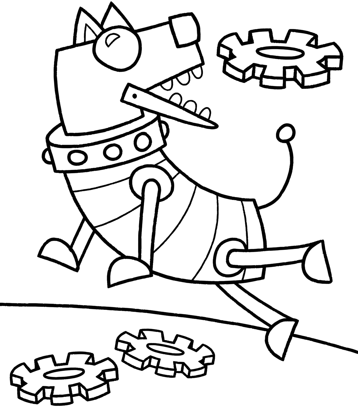 1200x1368 Robots Robot Dog Robots Coloring Pages Robot And Craft
