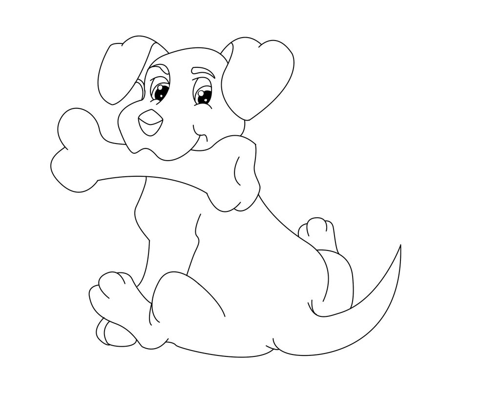 450x470 Clipart Waving Dog Robot 987x809 Coloring Page