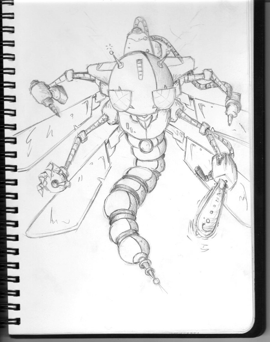 900x1136 Dragonfly Robot By Larcyn11 By Robot Drawing Club