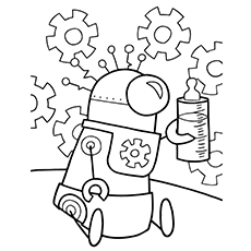Robot Drawing Pictures At Getdrawings Com Free For Personal Use