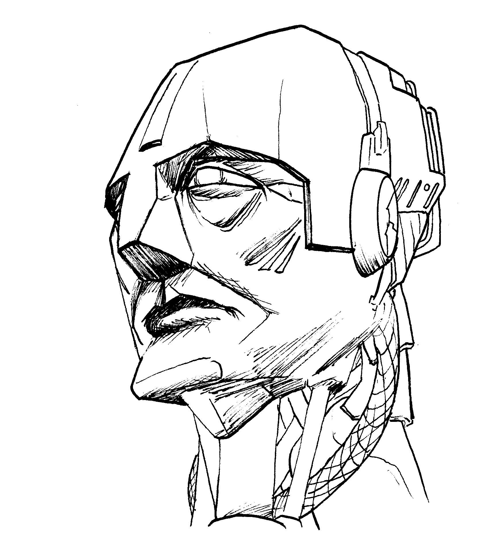 1720x1907 Robot Head Samgarlandillustrations