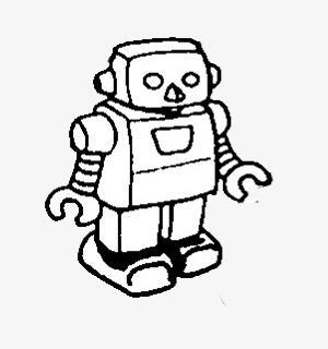 300x320 Hand Drawn Robot, Hand, Robot Png Image For Free Download