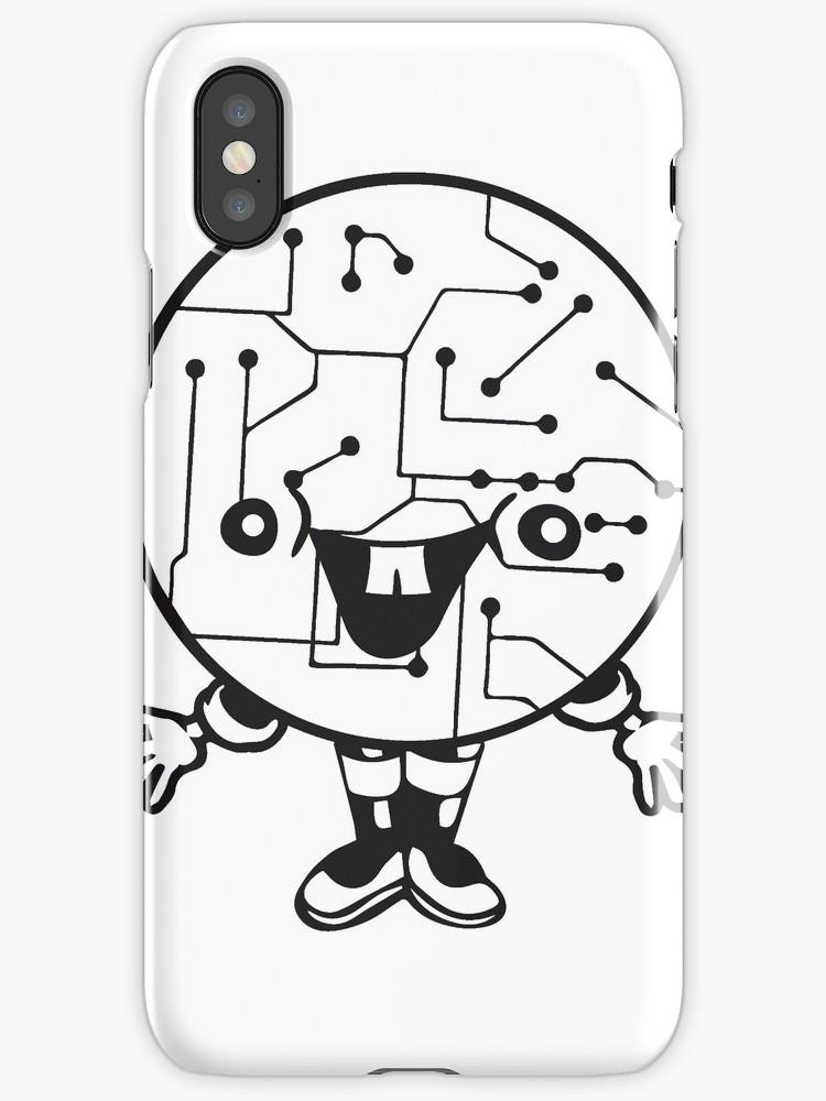 750x1000 Laughing Face Funny Cartoon Cartoon Cyborg Robot Head Ball Circle