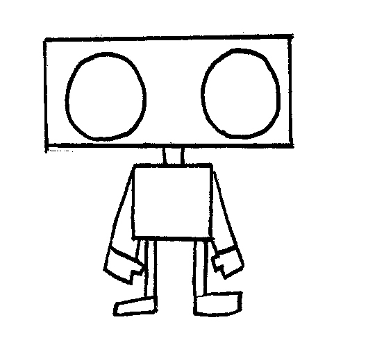 530x500 Image Result For Robot Shape Drawing Shape Robot