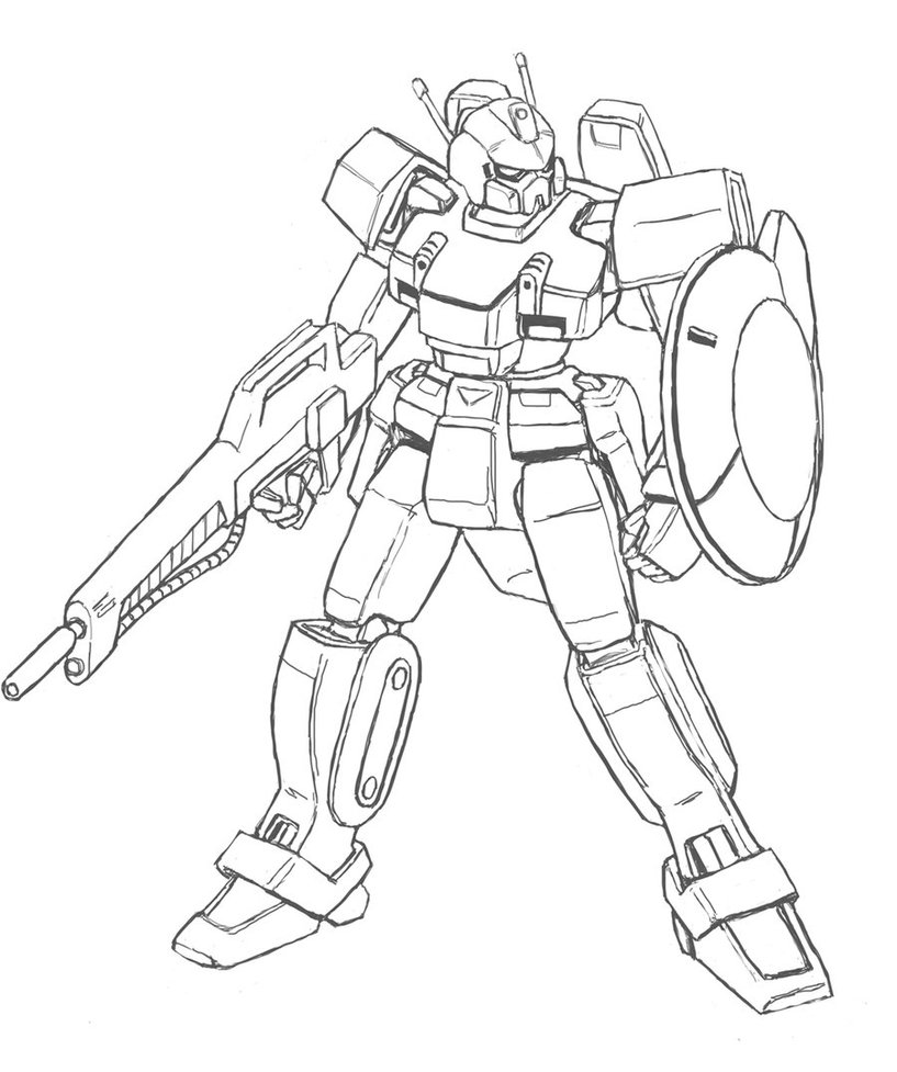 817x977 Cool Robot Drawing Catchphrasefear The Gear