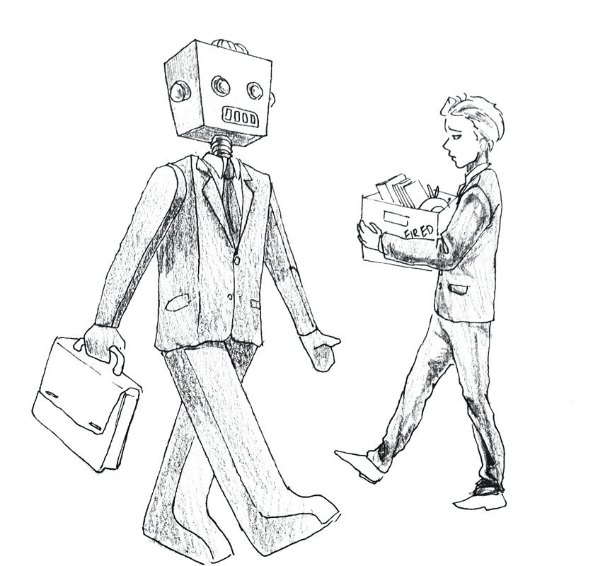838x800 Dystopian Future Arriving Fast As Robots Steal Human Jobs
