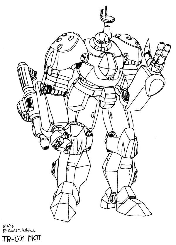 600x834 Tr 001 Titan Combat Robot By Gundam Chief