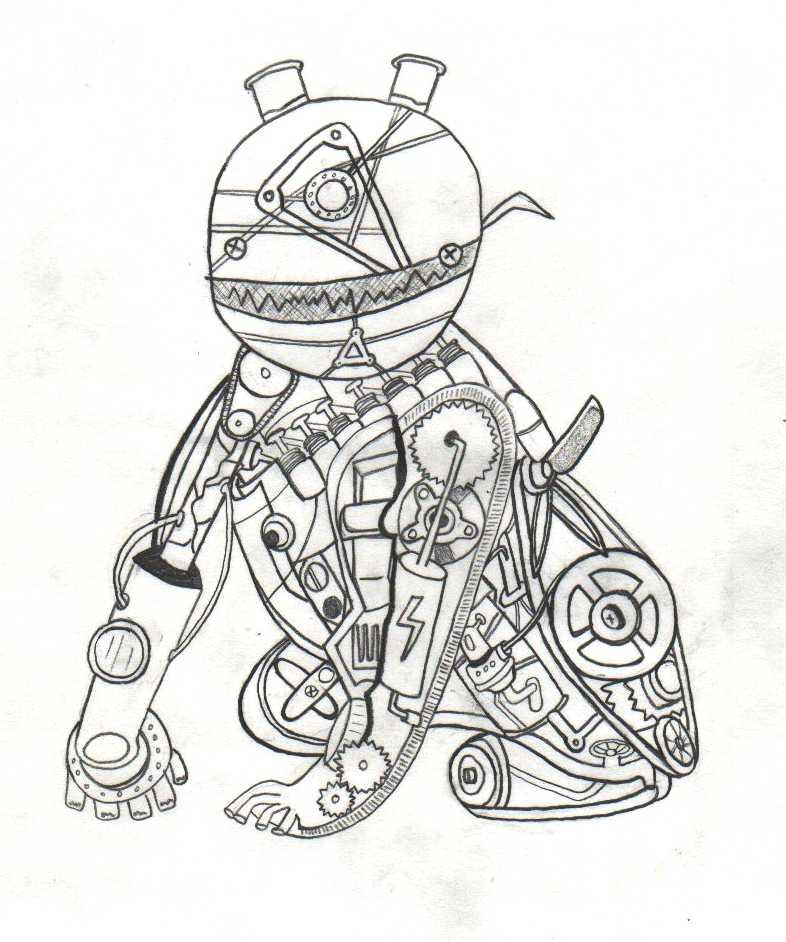 Robots Drawing